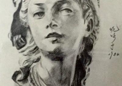 《石膏像》